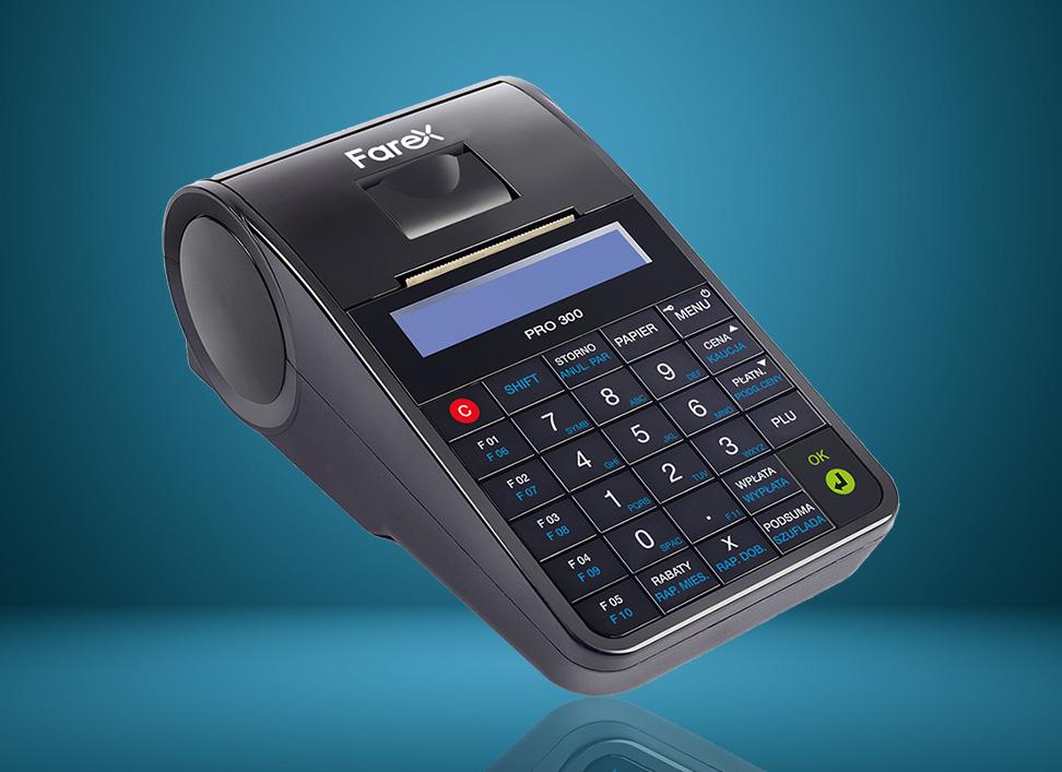 Farex Pro 300 - online'owa kasa fiskalna