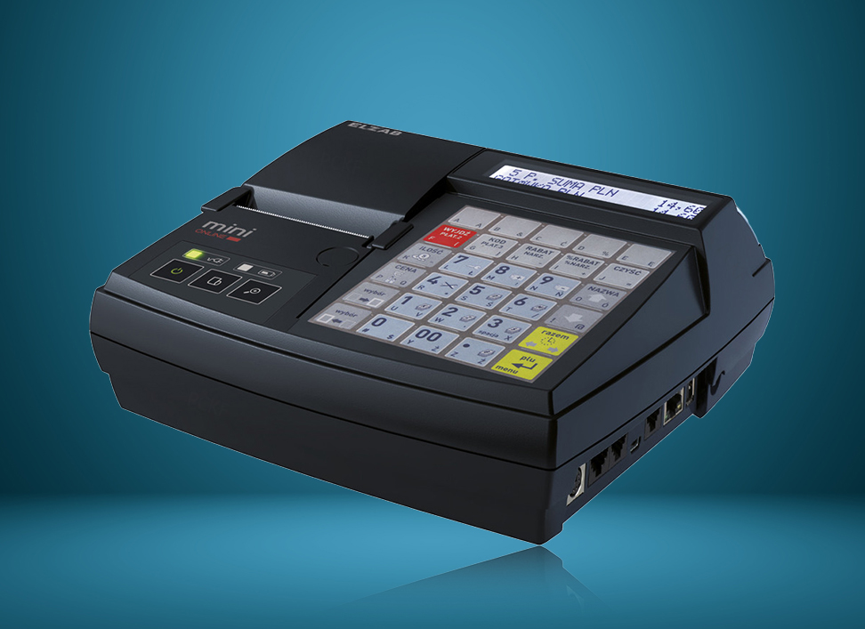 Elzab Mini Online - kompaktowa kasa fiskalna