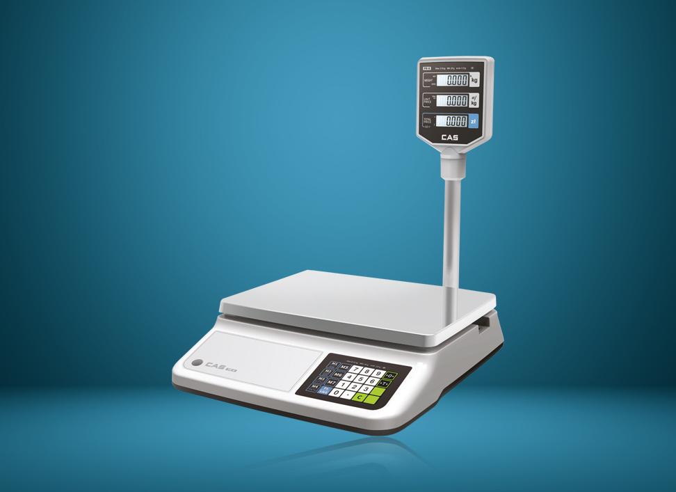 Cas PR-II - waga elektroniczna wykorzystywana w gastronomii